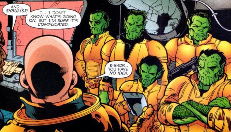 漫威宇宙三大外星种族 史克鲁尔人与克里人百年战争牵扯地球人