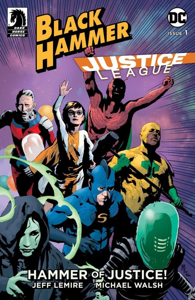 黑马漫画《黑锤》 世上最强大超级英雄被困洛克伍德小镇