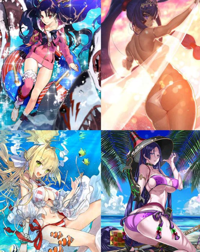 繁中文版《Fate/Grand Order(FGO)》复刻活动 清凉泳装超养眼