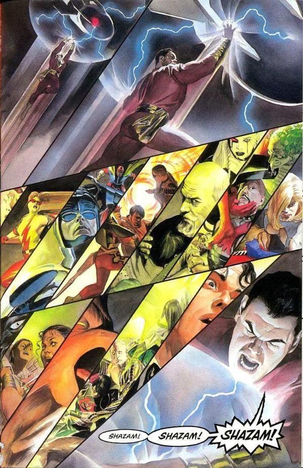 美漫《天国降临》 沙赞在DC平行宇宙地位如何
