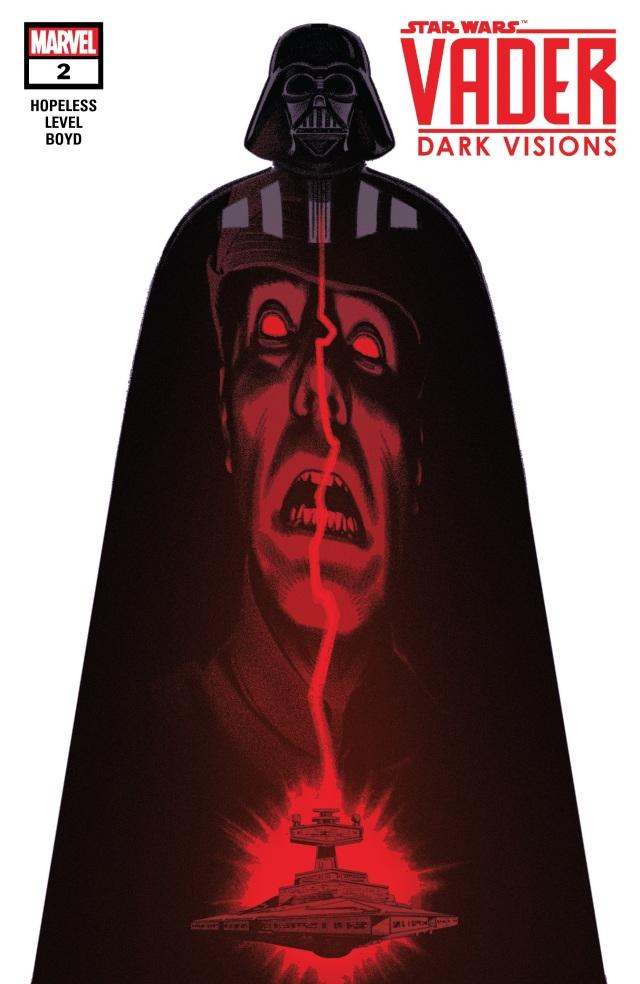 《Star Wars Vader: Dark Visions》第二期剧情 Tylux被达斯维德处决了吗