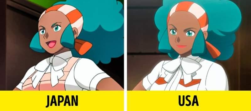 各国动漫播放画面对比 欧美版《美少女战士》删减大尺度