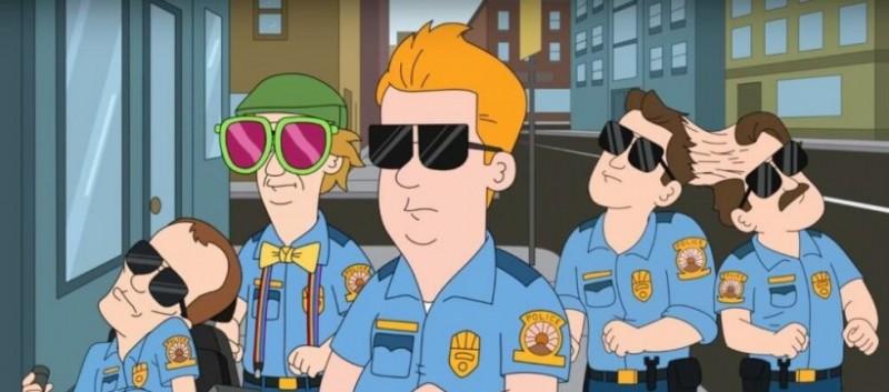 成人动画《无限废警局》首播 喜剧搞笑废片值得期待