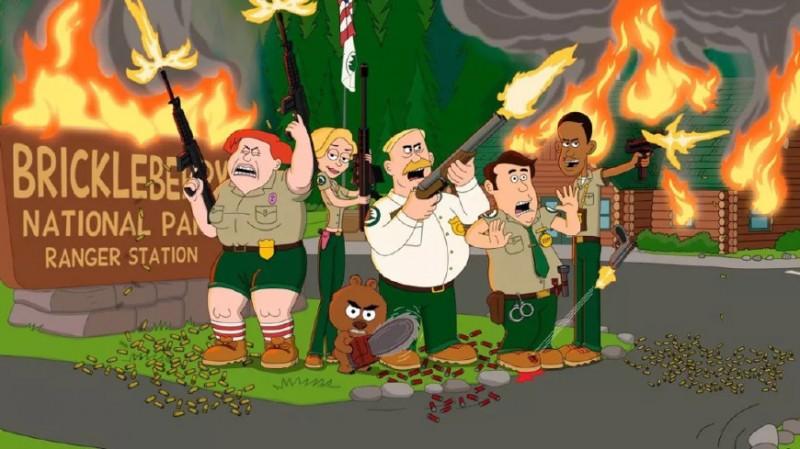 成人动画《脆梅公园》主创 又搞了部神经剧《天堂镇警局》