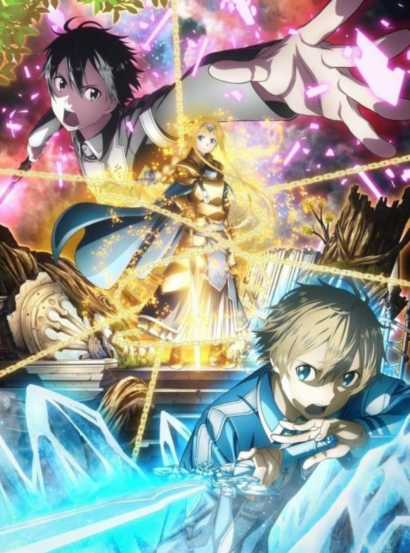 《刀剑神域》第三季最新PV 剧中人物新画面大公开