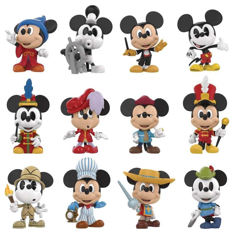 迪士尼米奇90周年纪念12款模型 简直是米老鼠的进化史