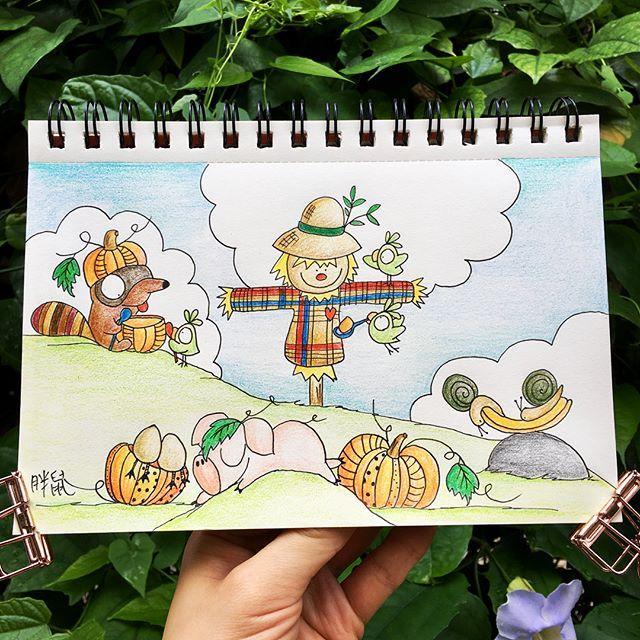 可爱萌趣的小猪插画 有没有逗乐你