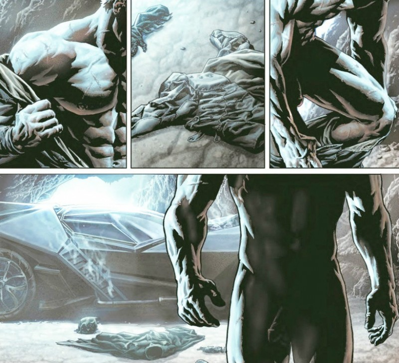 DC新漫画《蝙蝠侠:诅咒》 成人版蝙蝠侠布鲁斯韦恩露屌
