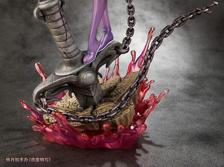 《仙剑奇侠传》林月如模型 手持长剑又帅又美