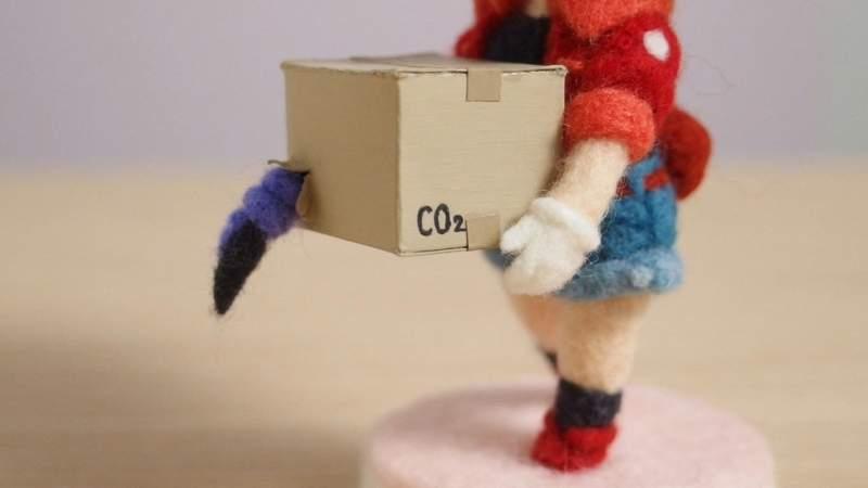 """《工作细胞》黏土人风格 """"红血球羊毛毡""""模型栩栩如生"""