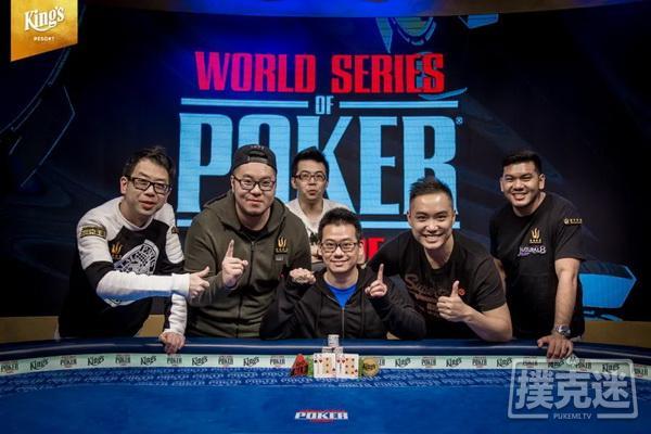 香港选手曾恩盛赢得职业生涯第二条金手链