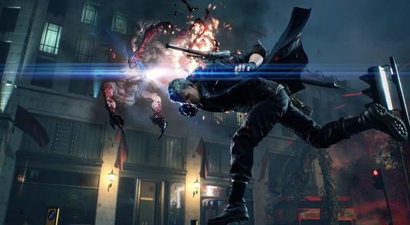 《恶魔猎人5》新游戏画面曝光 但丁骑机车帅气登场