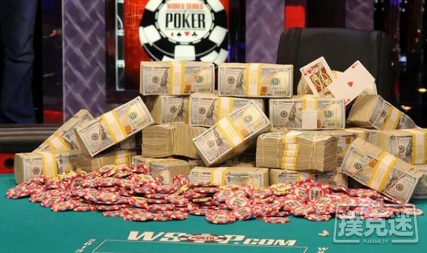 WSOP主赛事打破了2500万的保证金,冠军将独享390万美元