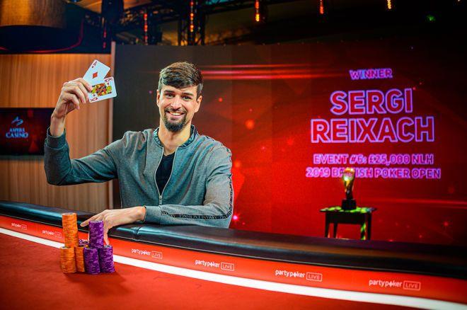 Sergi Reixach斩获BPO £25K NLHE冠军,奖金£253,000