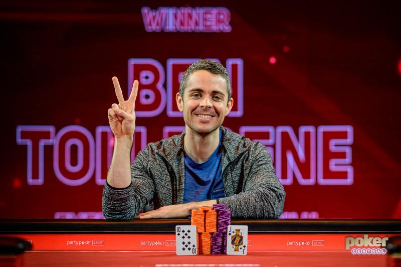 PLO职业玩家Ben Tollerene斩获BPO £100K NLH胜利,奖金£840,000