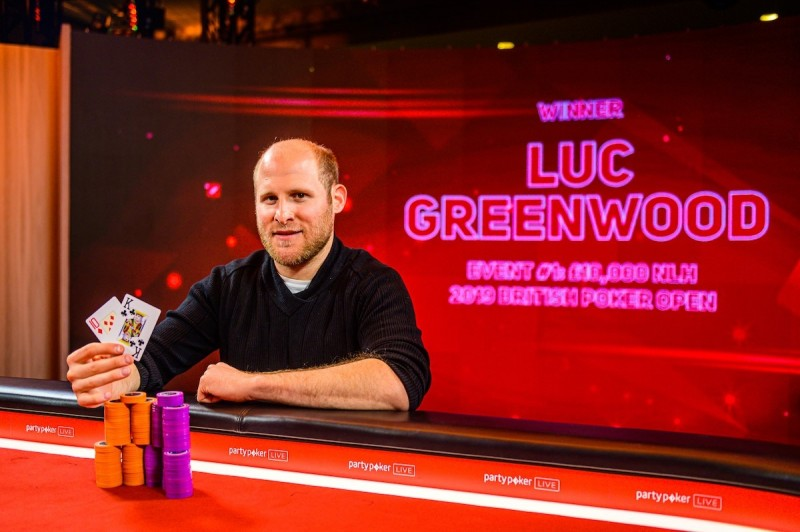 Luc Greenwood斩获英国扑克公开赛首项赛事冠军,揽获奖金£119.600