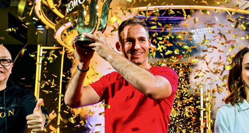 Justin Bonomo斩获传奇伦敦站£100,000短牌主赛胜利,入账$3,257,400!