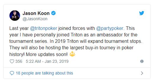 Jason Koon专访:打传奇赛事就是一种奢华享受