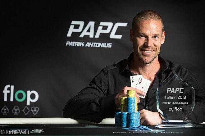 Patrik Antonius斩获PAPC €10,200锦标赛冠军,入账€78,100