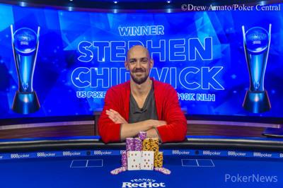 卫冕冠军Stephen Chidwick斩获USPO2首场胜利,获得奖金$216,000