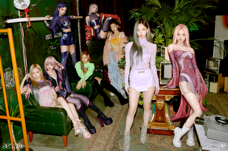 aespa《Black Mamba》创K-POP组合出道曲MV史上最短时间突破1亿点击量的新纪录