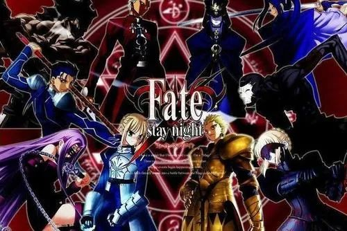 飞碟社作品《Fate/stay night》 你就是我的Master吗