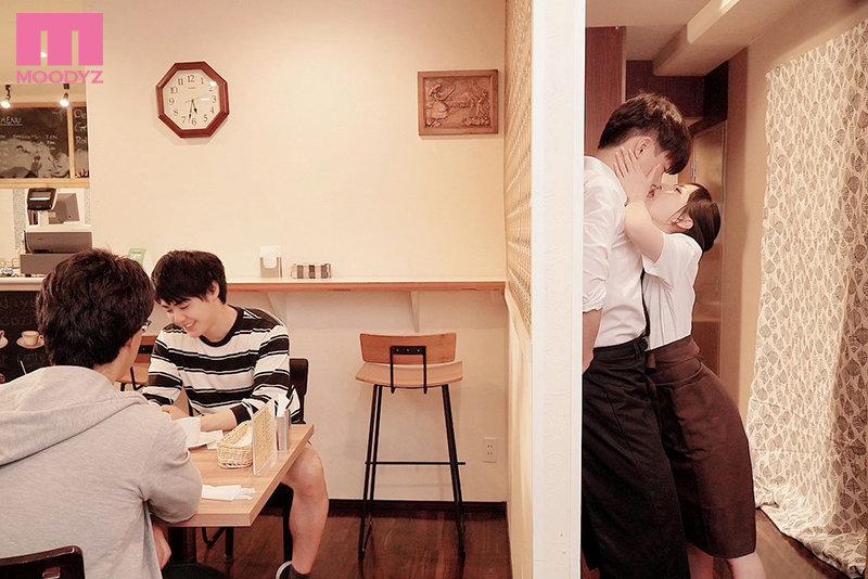 七沢みあ(七泽米亚)mide-983:咖啡店痴女强迫帮小鲜肉店员玩弄口技