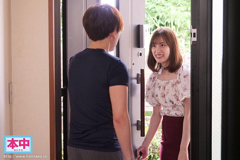 美谷朱里HMN-047:人气女优请邻居一起无套练习
